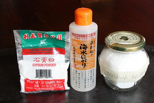 Tofu coagulants not great