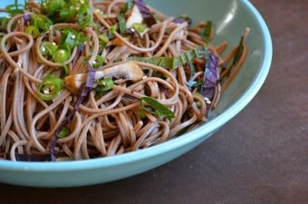 Soba Noodles with Vietnamese Herbs Recipe