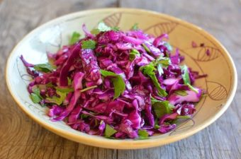 Red Cabbage and Black Pepper Slaw Recipe