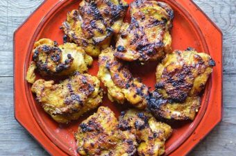 Thai Turmeric Grilled Chicken Recipe (Kai Yang Khamin)
