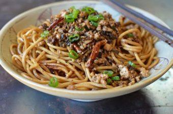 Vegetarian Dan Dan Noodles Recipe