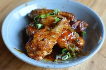 Hoisin-Glazed Grilled Chicken Wings Recipe