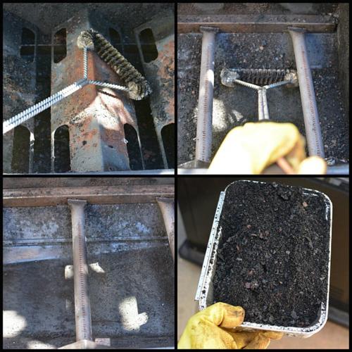 Three-sided-brush-grill