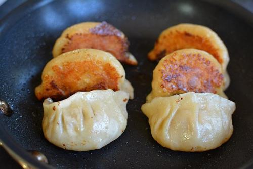 Dumplings-cooked