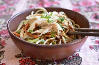 Sichuan Cold Sesame (or Peanut) Noodles Recipe