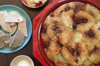 Panfried Banh Chung Vietnamese Tet Rice Cake (Banh Chung Chien) Recipe