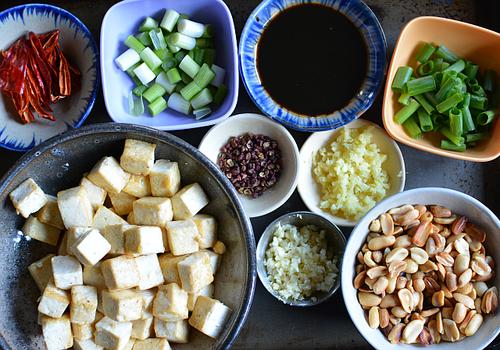 Kung pao tofu mis