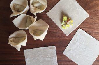 Wonton Primer: Wrapper Buying Tips, Wonton Shaping Video plus Recipes