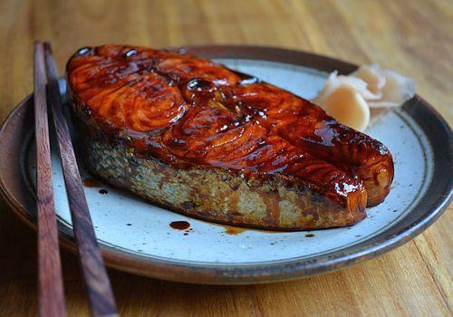 Stove-top-salmon-teriyaki