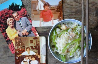Chicken Back and Celery Rice Recipe (com ga)