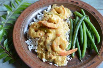 Kerala Shrimp in Coconut Milk Recipe