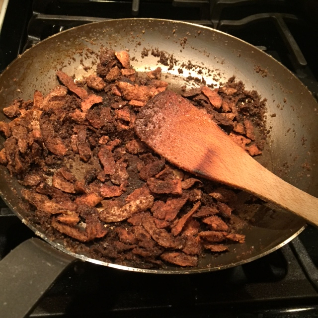 Carbon-steel-seaoning-in-pan