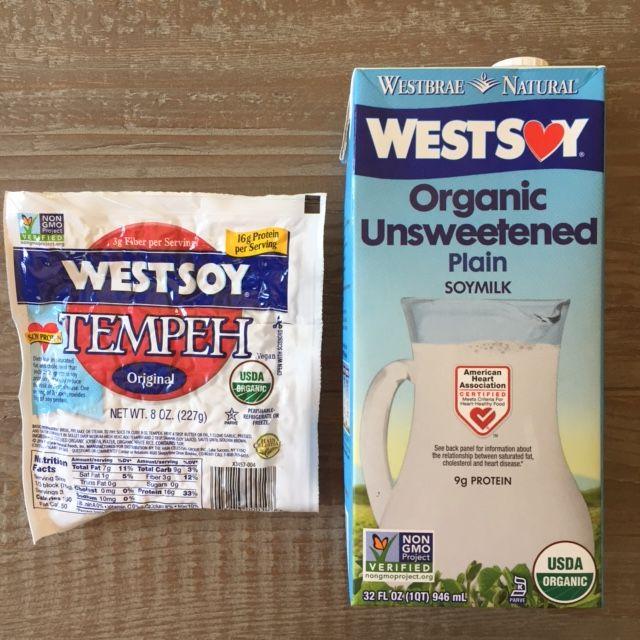 Organic-non-gmo-soymilk-tempeh