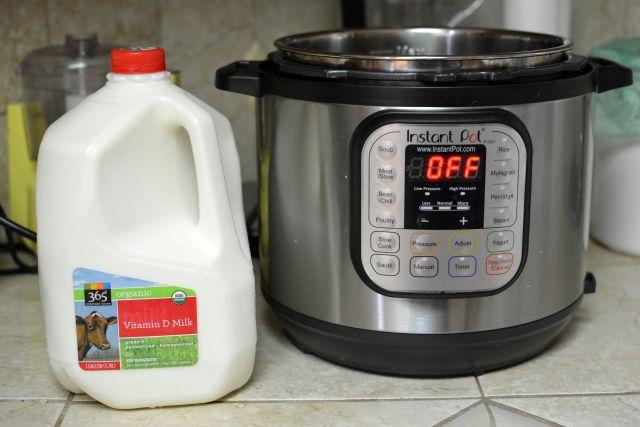 Instant-pot-yogurt-milk