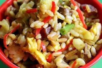 Japanese Curry Fried Rice Recipe