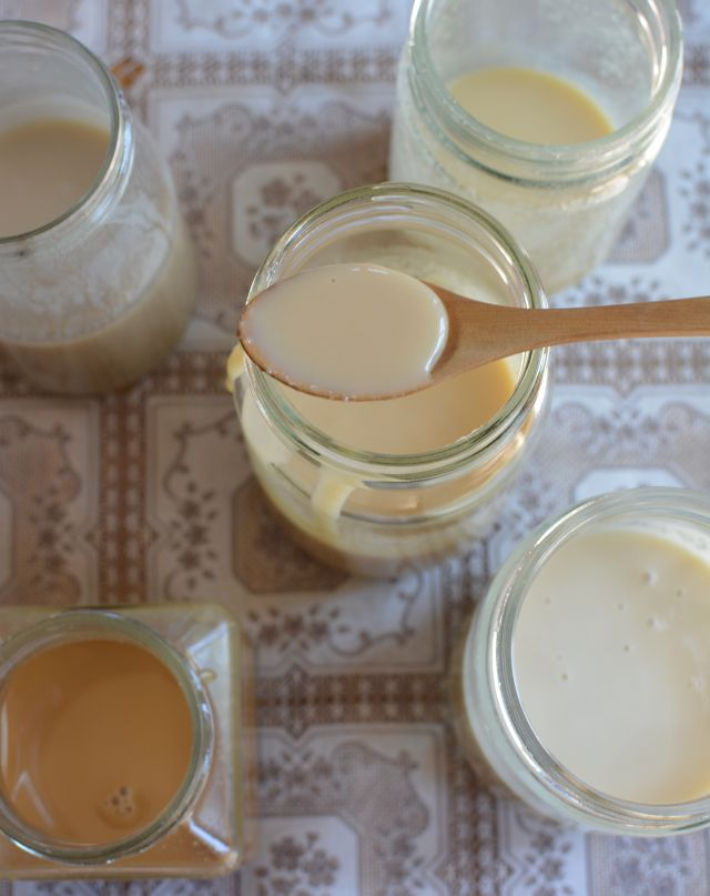 Homemade condensed milk-1