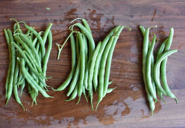 Green-beans-coconut-sorting