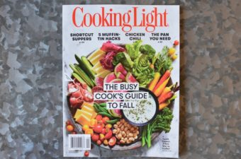 My New Cooking Light Column