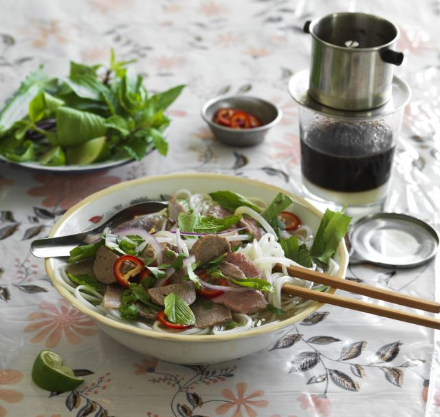 BERKELEY, CA - MARCH 22-25, 2016: The Pho Cookbook. Saigon-style beef pho. PHOTO BY JOHN LEE COPYRIGHT 2016 JOHN LEE PICTURES