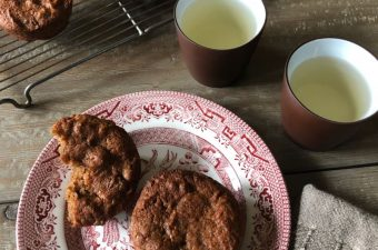 Spiced Persimmon and Ginger Muffin Recipe