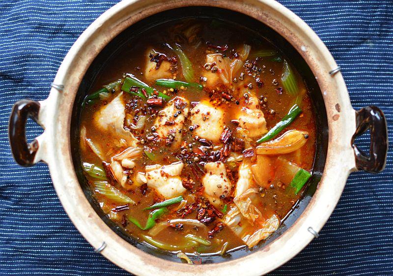 Sichuan Boiling Fish (Shui Zhu Yu)