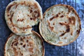 Scallion Pancakes Recipe (Cong You Bing)