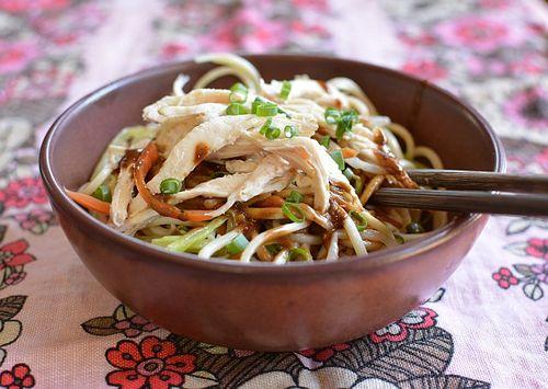 Asian cold noodle recipes -- Sichuan sesame noodles