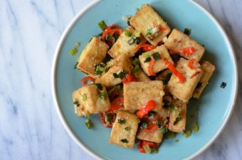 Air-Fried Salt and Pepper Tofu Recipe