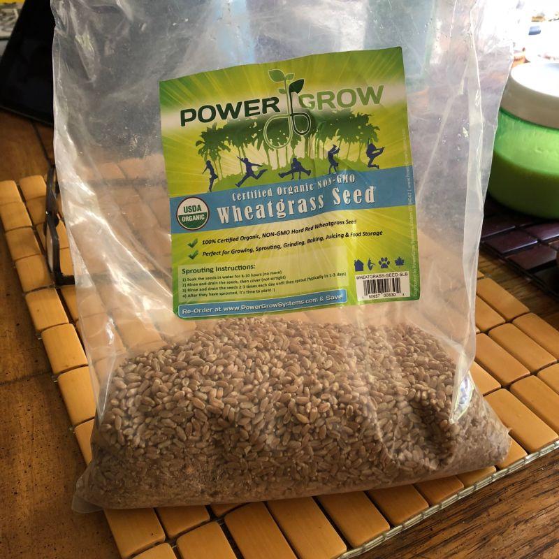 Dad's wheatgrass juicing tips