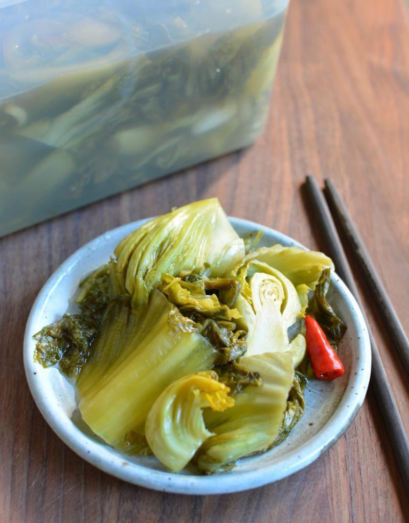 Fermented Chinese Mustard Greens recipe