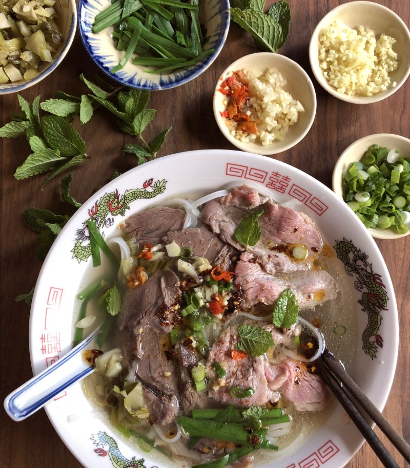 Chinese beef pho