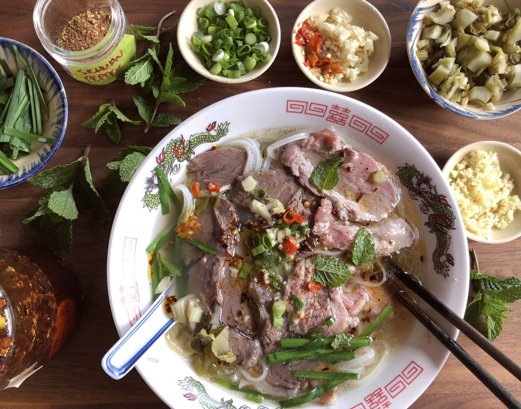 Yunnan Beef Pho Noodle Soup
