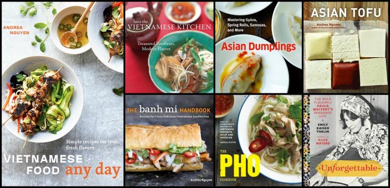 Andrea Nguyen cookbooks