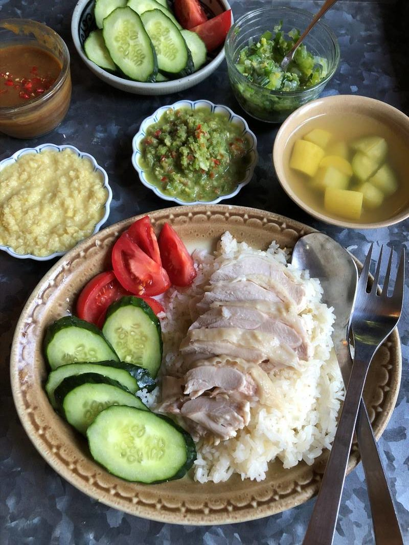 Hainan Chicken and Rice Recipe